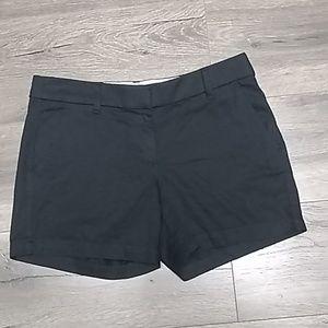 💋J CREW black shorts